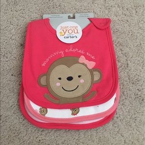 NWT Carter's Bibs Size: OS(Baby)